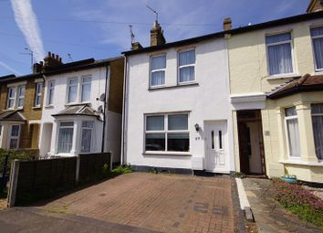 Thumbnail 2 bed end terrace house for sale in Wakering Avenue, Shoeburyness, Southend-On-Sea