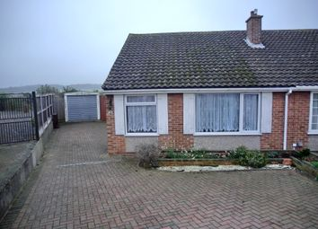 Thumbnail 2 bed semi-detached bungalow to rent in Little Croft, Istead Rise, Gravesend