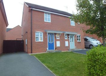 Thumbnail 2 bed semi-detached house to rent in Hatherton Avenue, Sandyford, Stoke-On-Trent