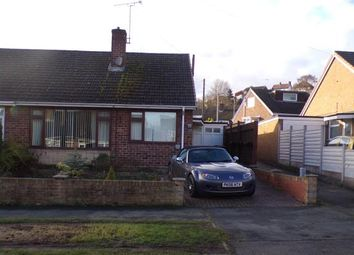 Thumbnail 3 bed bungalow for sale in Bosworth Drive, Burton On Trent, Staffordshire