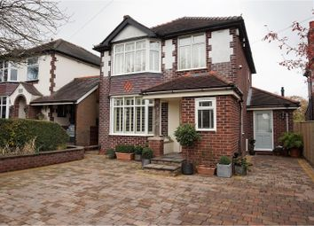 Thumbnail 4 bed detached house for sale in Gawsworth Road, Macclesfield