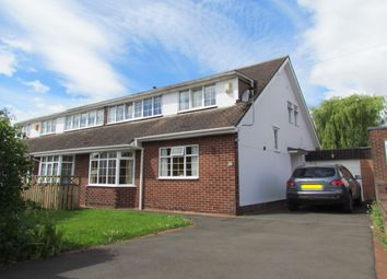Thumbnail 3 bed semi-detached house to rent in Greenfield Road, Newcastle Upon Tyne