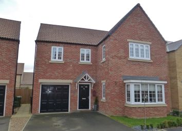 Thumbnail 4 bedroom detached house for sale in The Courtyard, Main Road, Barleythorpe, Oakham