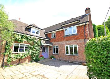 Thumbnail 3 bed detached house to rent in Lambourne Close, Sparsholt, Winchester