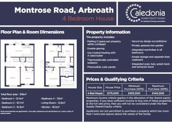 Thumbnail 4 bed property for sale in Montrose Road, Arbroath