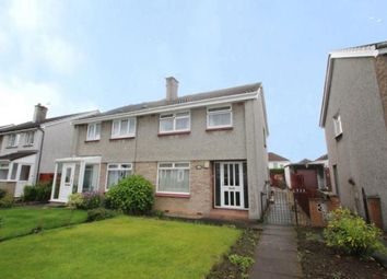 Thumbnail 3 bedroom semi-detached house for sale in Ralston Path, Glasgow, Lanarkshire