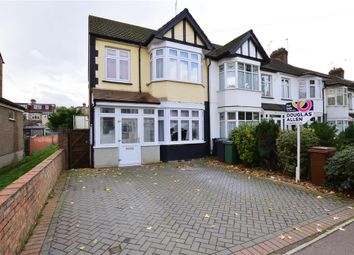 Thumbnail 3 bed end terrace house for sale in Normanshire Drive, London