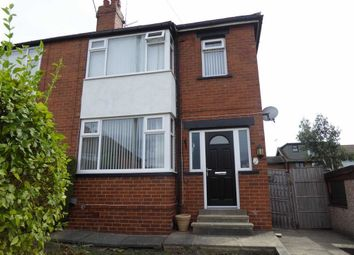 Thumbnail 3 bed semi-detached house to rent in Ryedale Avenue, Leeds, West Yorkshire