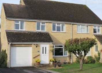 Thumbnail 4 bed semi-detached house for sale in Alexander Drive, Cirencester, Gloucestershire.