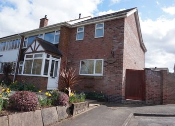 Thumbnail 4 bed semi-detached house for sale in Moor Lane, Bolehall, Tamworth