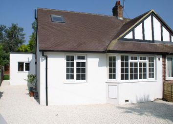 Thumbnail 4 bed semi-detached bungalow for sale in Rydens Road, Walton-On-Thames