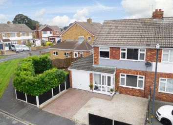 Thumbnail 3 bed semi-detached house for sale in Oxton Drive, Tadcaster
