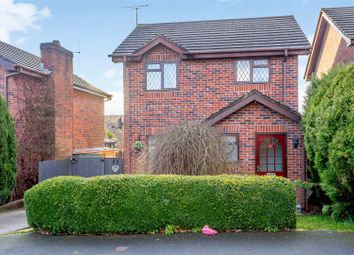 Thumbnail 3 bed detached house for sale in Hardy Close, Cheadle, Stoke-On-Trent