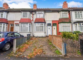 Thumbnail 2 bed terraced house for sale in Milverton Road, Erdington, Birmingham, West Midlands