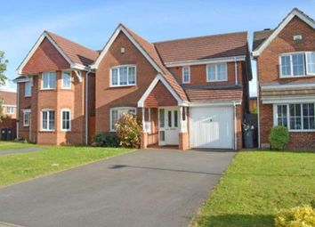 Thumbnail 4 bedroom detached house to rent in Mercers Meadow, Keresley End, Coventry