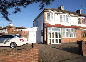 Thumbnail 3 bedroom end terrace house to rent in Blackthorne Drive, London