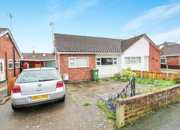 Thumbnail 2 bed semi-detached bungalow for sale in Osborne Road, Wrexham