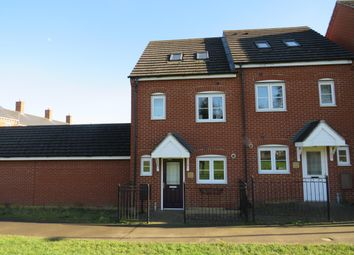 Thumbnail 3 bed property to rent in Frank Large Walk, Duston, Northampton