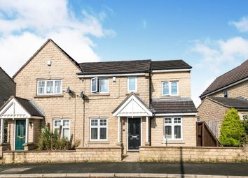 Thumbnail 4 bed semi-detached house for sale in Quail Avenue, Bradford