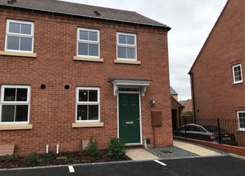 Thumbnail 2 bed terraced house to rent in Pickard Way, Leicester Forest East