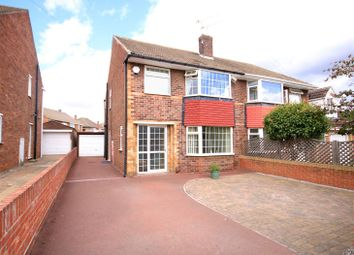 Thumbnail 3 bed semi-detached house for sale in Abbey Walk, Scawsby, Doncaster