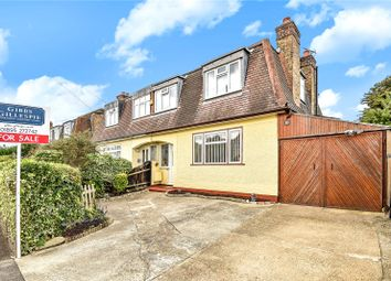 Thumbnail 4 bed semi-detached house for sale in Corwell Lane, Hillingdon, Middlesex