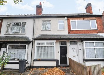 Thumbnail 3 bed terraced house for sale in Gristhorpe Road, Selly Oak, Birmingham