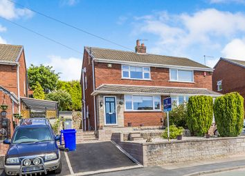 Thumbnail 2 bed semi-detached house for sale in Crediton Avenue, Stoke-On-Trent