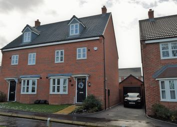 Thumbnail 4 bedroom semi-detached house for sale in Cricketers Close, Scraptoft, Leicester