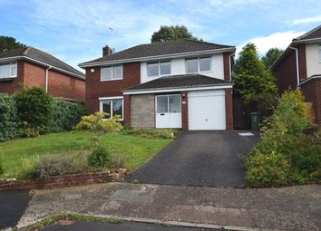 Thumbnail 4 bed detached house to rent in Doriam Close, Exeter