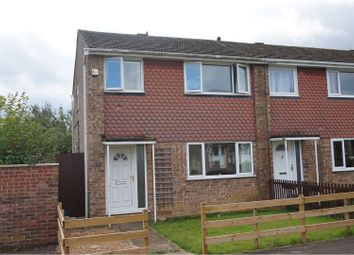 Thumbnail 3 bed end terrace house to rent in Dumfries Close, Milton Keynes