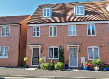 Thumbnail 3 bed end terrace house for sale in Sharpham Road, Glastonbury