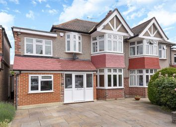 Thumbnail 4 bed semi-detached house to rent in Fairfield Avenue, Whitton, Twickenham
