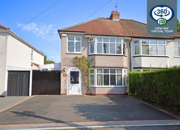 Thumbnail 3 bed semi-detached house for sale in Beanfield Avenue, Green Lane, Coventry