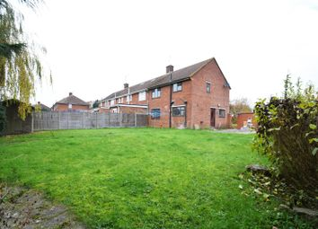 Thumbnail 3 bedroom end terrace house for sale in Gainsborough Road, Reading