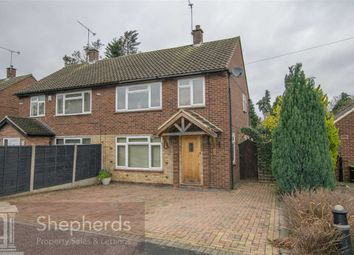 Thumbnail 3 bed semi-detached house to rent in Hyde Mead, Nazeing, Essex