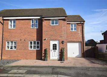 Thumbnail 3 bed semi-detached house for sale in Grafton Road, Roade, Northampton