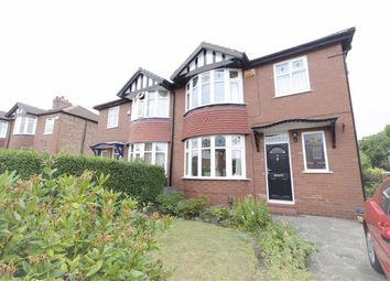 Thumbnail 3 bed semi-detached house to rent in Huncoat Avenue, Heaton Chapel, Stockport
