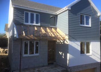 Thumbnail 3 bed detached house for sale in North Road, Goldsithney, Penzance, Cornwall.
