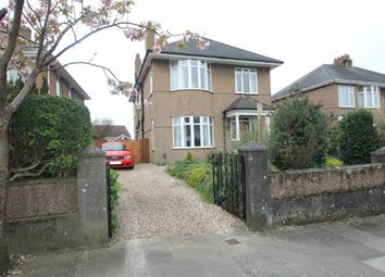Thumbnail 4 bed detached house for sale in Efford Road, Plymouth