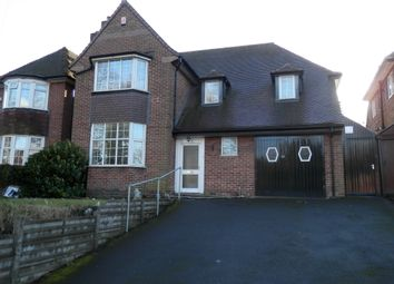 Thumbnail 4 bed detached house to rent in Vernon Avenue, Handsworth Wood