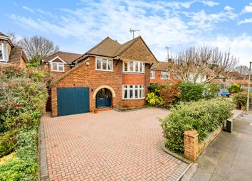 Thumbnail 4 bed detached house for sale in Silver Birch Close, Woodham, Addlestone