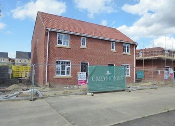 Thumbnail 3 bed semi-detached house for sale in Sayers Crescent, Wisbech St. Mary, Wisbech