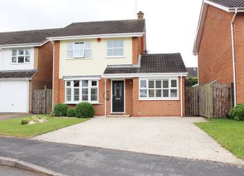 Thumbnail 3 bed detached house for sale in Home Close, Bubbenhall, Coventry