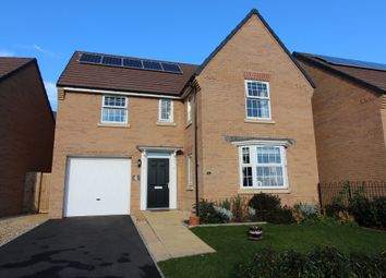 Thumbnail 4 bed detached house for sale in Membury Crescent, Exeter