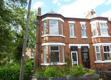Thumbnail 3 bed end terrace house to rent in Crewe Road, Nantwich, Cheshire