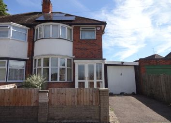 Thumbnail 3 bed semi-detached house for sale in Ambassador Road, Leicester, Leicestershire