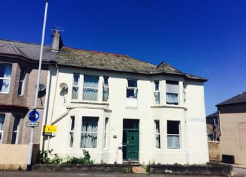 Thumbnail 4 bedroom end terrace house for sale in Embankment Road, Plymouth