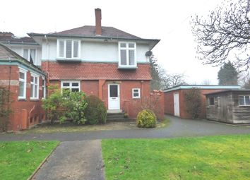Thumbnail 3 bedroom semi-detached house to rent in Harrop Road, Hale, Altrincham