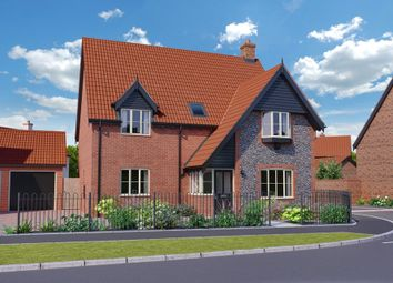 Thumbnail 4 bed detached house for sale in Martham Road, Hemsby, Great Yarmouth